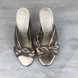 Dolce Vita Gold Heeled Sandals